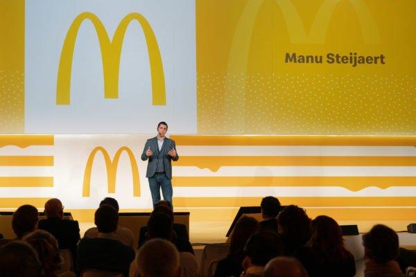 Conferenza McDondald's a Milano
